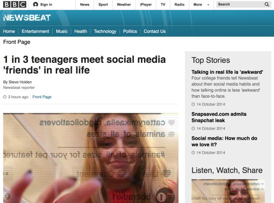 BBC Newsbeat - Comres Study